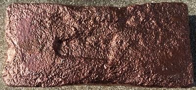 Baustein-Bronze