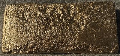 Baustein-Gold
